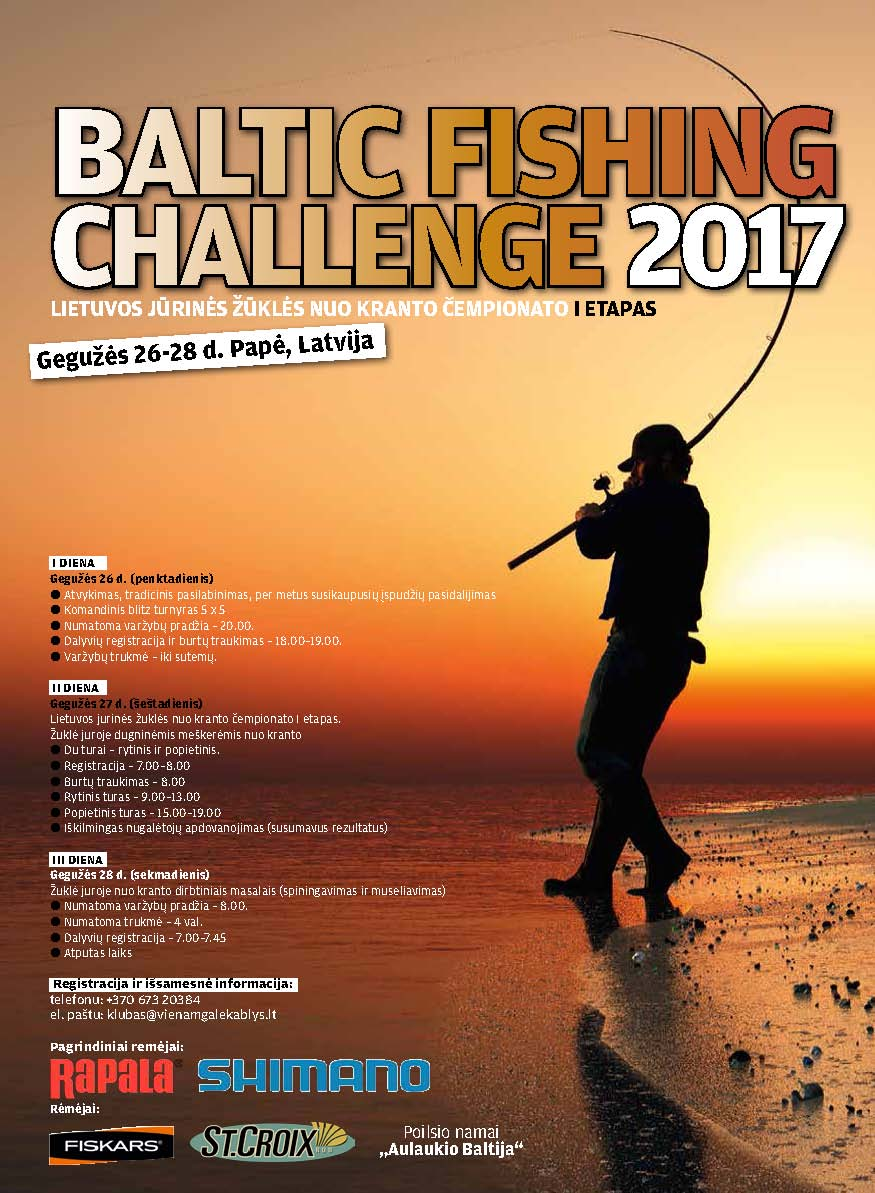 Baltic Fishing Challenge 2017