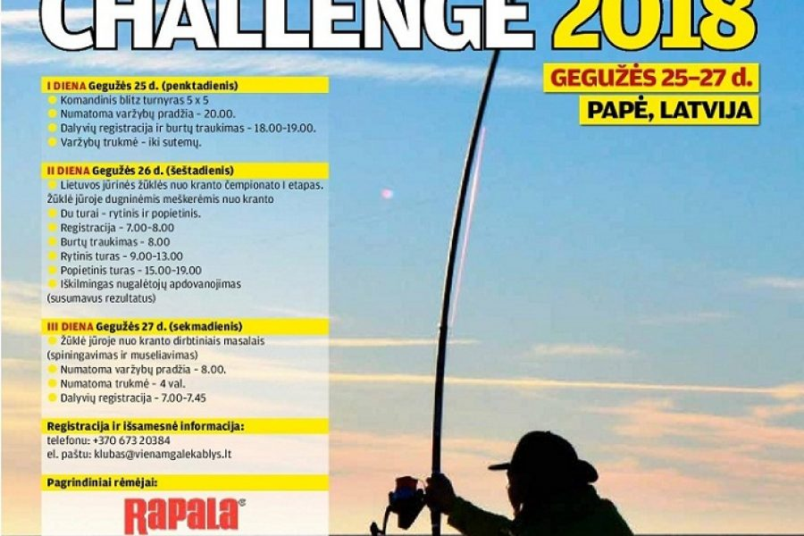 Baltic Fishing Challenge 2018