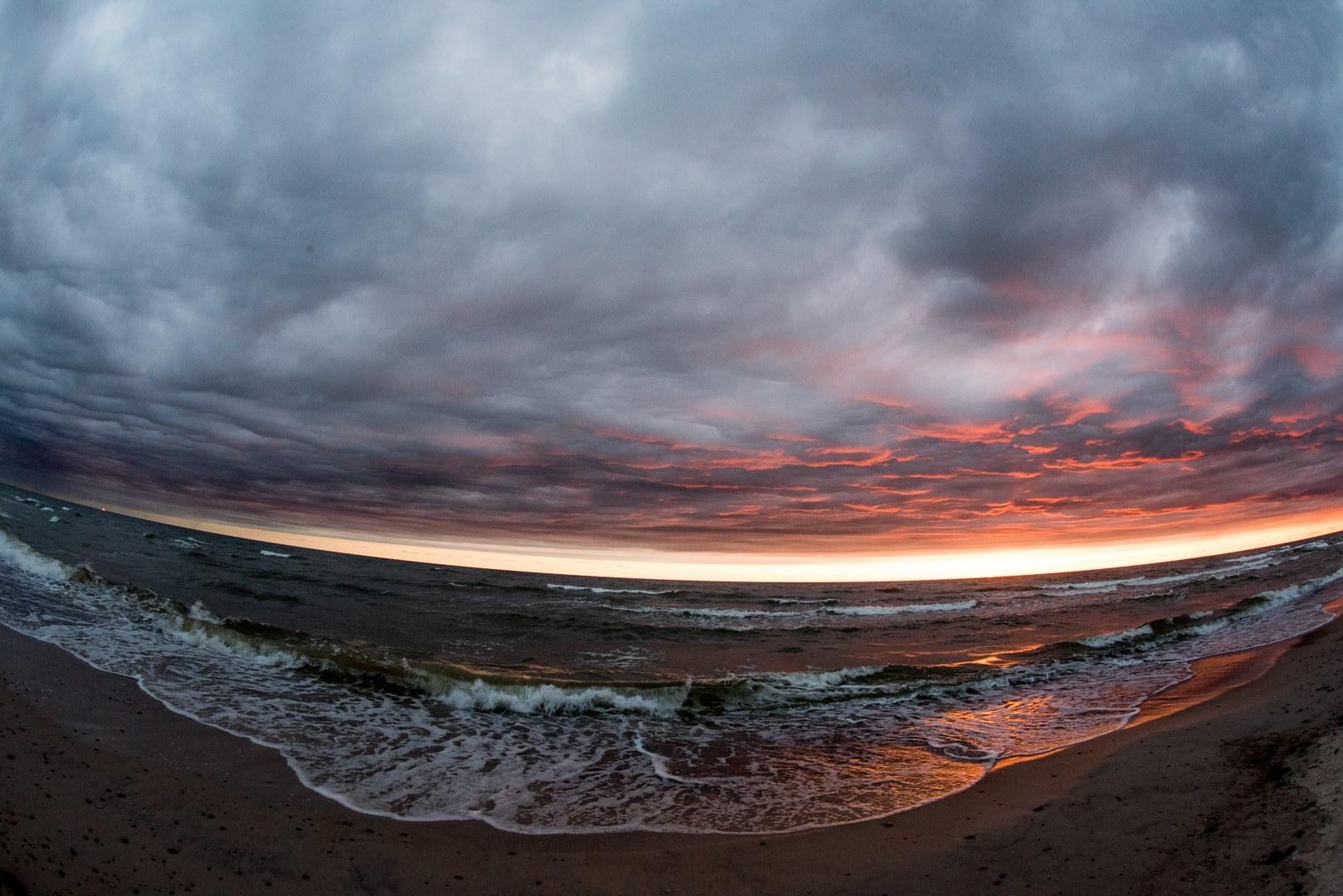 MŪSŲ JŪRA, Baltijos pakrantė, Nida